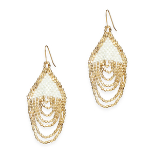 goldpearl earrings